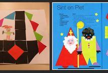 Kleuters: thema 'Sinterklaas'