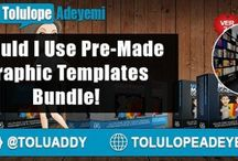 Should I Use Pre-Made #GraphicTemplates Bundle? via @Toluaddy RT...