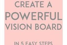 Vision boards and positive stuff
