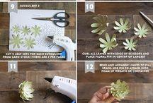 roślinki&origami
