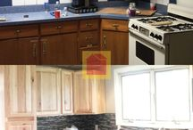 Before And After Home Makeover Ideas / Before and after images of home makeovers sent in to us by our customers.