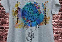 Dekorasjon teskjorter
