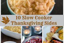 Thanksgiving ideas / Food, crafts, etc.