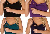Oblečení pro kojící ženy / Praktické a pohodlné kojicí oblečení