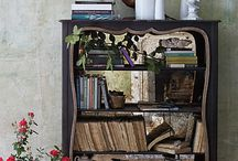 Bookshelves + Dressers and more / looking for the earthly pieces of furniture to hold my treasures;)