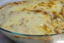 macarrão molho batata