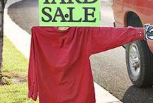Yard Sale Ideas / by Ruth Hunziker
