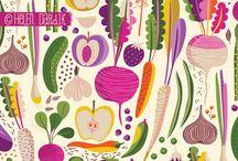 Patterns & prints / Lovely pattern inspiration