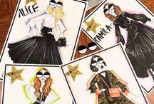 Fashion Concierge Christmas Cards