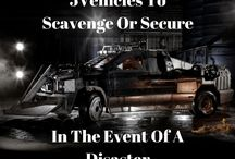 5 vehicles to scavenge or secure in the event of a disaster