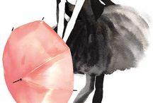 umbrellas - parasols