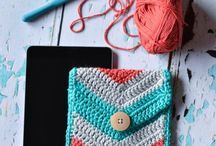 A Crochet Mobile Device Cover