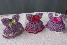 Marturii pentru botez . Suvenir crochet.