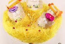 Мини Букет КотоПчел / Весенне обострение продолжается! КотоПчёлы, КотоЦветики и божьи коровочки собраны для Вас с любовью в нежном, майском букете!  Подарите себе и близким солнечное настроение!