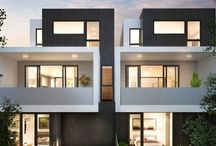 Triple storey townhouses