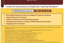 GLBIMR Greater Noida, is organizing the Induction Program for PGDM Batch 2018-20