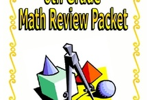 6th Grade Math / Getting geared up to teaching Math for the next school year. / by Melissa Broyles-Wiles