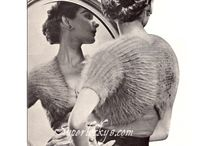Vintage Bolero knitting epattern / Download digital version