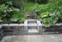 trädgård mur