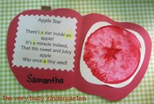 Apples / Apple activities for toddlers and preschoolers. / by Sheryl @ Teaching 2 and 3 Year Olds
