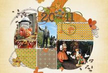 Scrapbook Ideas - Halloween / Scrapbook layouts I like featuring Halloween and kids activities centered around this day