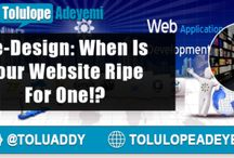 When is Your #Website Ripe for a #ReDesign? via @Toluaddy RT...