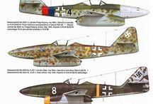 Militaire tekeningen (vliegtuigen)