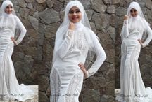 Wedding Dress Muslimah / Wedding Dress Muslimah