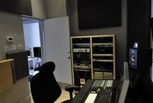 Music studios / Here is a collection of music studios we have worked on and other that we really like. Feel free to share, like and pin. For more info and a possible inquiry please visit www.alphacoustic.com and send us a contact form with your details.