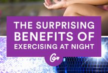 Exercising at night