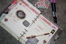 Planificando en mi Planner ❤