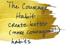Create Better Habits / Habits Quotes / How do we create better habits (starting with creating more courageous habits)? This board will contain habits quotes to get us to think about how we create habits that lead to more happiness and success.