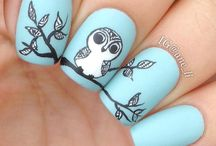 Nail art / So cool. I really cannot do this, but I do like it!!