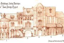 planos casas edificios