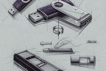 Industrial Design Sketches / Design, artistic and other kind of sick drawings..!