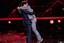 Mika hugs