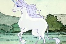 The last unicorn/ Unicorns