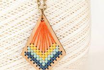 Laser necklace