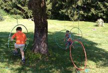 Spiele für Kinder im Garten