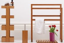 Wood towel rail / by Cláudia Clark