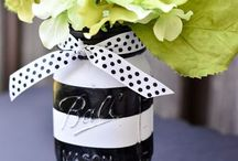 Black and white tea party