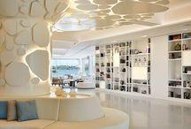Nikki Beach, Porto Heli, Greece / The new super cool library at Nikki Beach Resort and Spa, Porto Heli, Greece