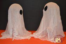 Halloween / Halloween, a kísértetek éjszakája - töklámpás - narancssárga tök - boszorkány - fekete macska - szellem.