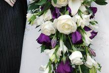 Shower wedding bouquets