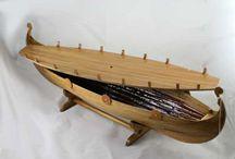 Viking Longboat Urns / Viking Funerals