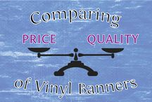 Vinyl Banners / Vinyl banners are one of the most affordable and effective methods of temporary signage, ideal for promotions and events.