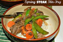 Beef Dishes / Everyone body gets sick of the same old beef recipes. Here you'll find new ideas for skillet meals, grilling recipes and don't forget to set it and forget it in your crockpot!