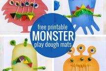 playdough printables