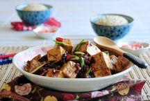 TOFU (různé recepty-jídla)