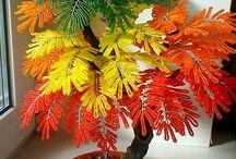 Растения из бисера